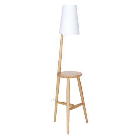 floor l white shade wallace oak floor l and table with white shade buy