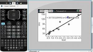P Wert Berechnen T Test : using ti nspire to find correlation coefficient youtube ~ Themetempest.com Abrechnung