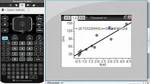 P Wert Berechnen : using ti nspire to find correlation coefficient youtube ~ Themetempest.com Abrechnung