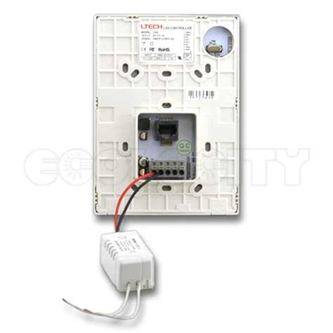 rgbw wireless led controller wall mount for low voltgae