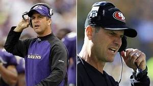 John Harbaugh Says Brother Jim Harbaugh Is 'Best Coach in ...