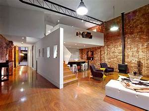 Beautiful, Brick, Walls, Warehouse, Conversion, In, Fitzroy, Conceals, Twin, Delights