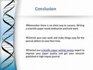 Scientific Paper Writing Tips