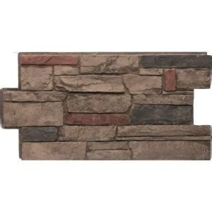 ledge stone panel usa urestone ledgestone 25 mocha 24 in x 48 in veneer panel 4 pack dp2610 25 the home depot