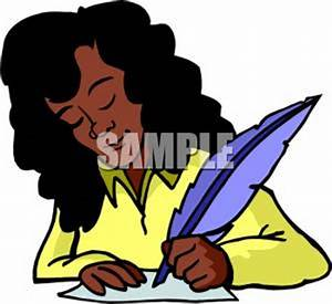 Clip Art Female Writer Clipart - Clipart Suggest