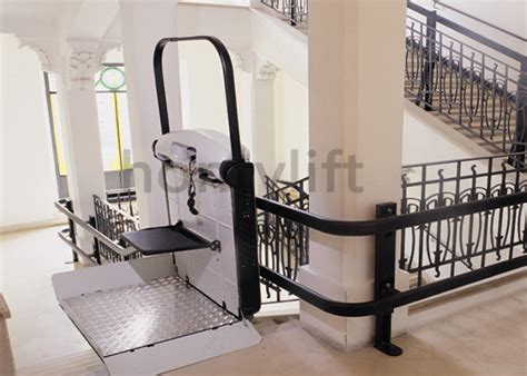 professional handicapped curved wheelchair stair lift
