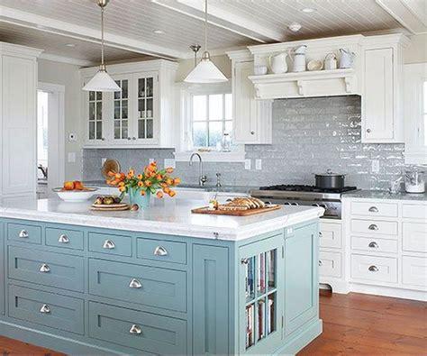 beautiful kitchen islands 35 beautiful kitchen backsplash ideas hative