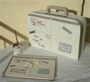 urne mariage voyage nouvel ensemble déco mariage sur le thème voyage vintage idees et merveilles