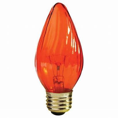 Flame Amber Bulb F15 Lighting Incandescent Bulbs