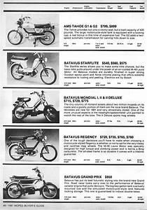 1981 Buyers Guide  U00ab Myrons Mopeds