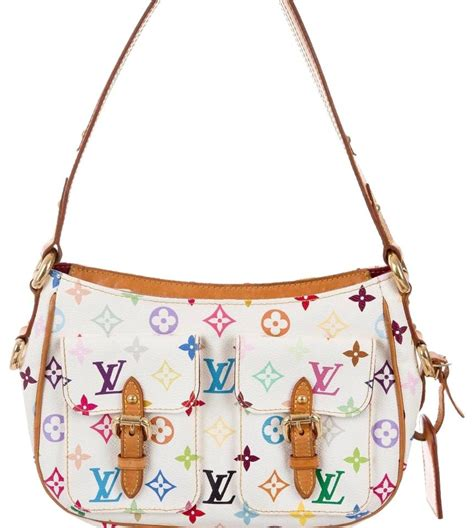 louis vuitton limited edition blanc multicolore white