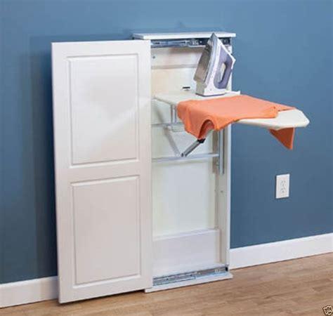 Iron 'n Fold Floor Cabinet Adjustable Ironing Board