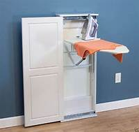ironing board cabinet Iron 'n Fold Floor Cabinet Adjustable Ironing Board Wheelchair Accessible | eBay