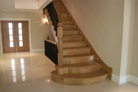 oak step bespoke oak staircases handmade british made