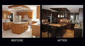 Sumac Kitchen before after Alana's Touch Innovative