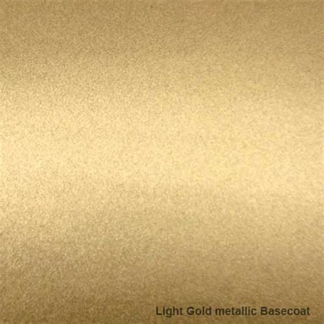 Bright Golden by Special Effect Basecoat Colour 349d1m Light Gold Metallic