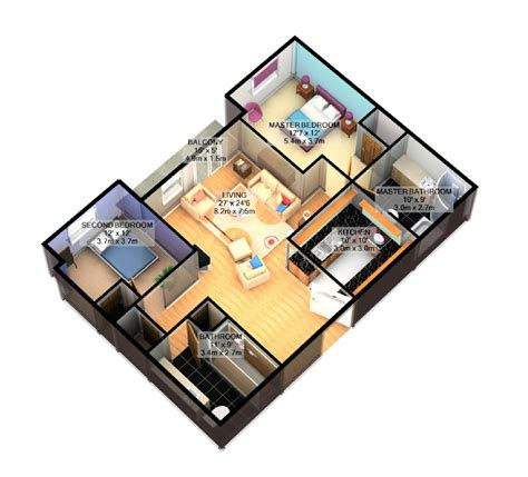 simple house plan with 3 bedrooms 3d www pixshark com images galleries with a bite