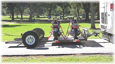 the carrier and lift store motorcycle trailers