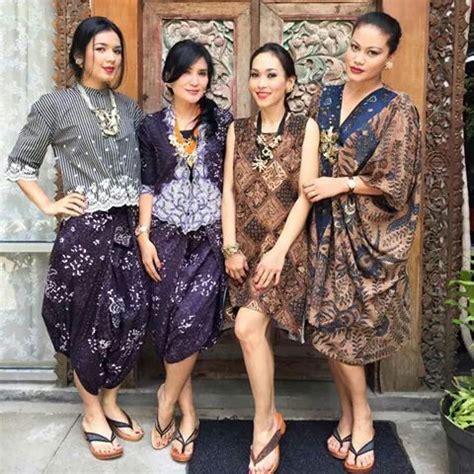 atasan kebaya rok batik ungu batik pinterest