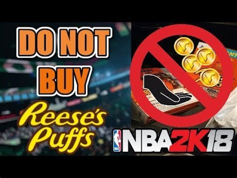 Do Not Buy Nba 2k18 Reeses Puffs! You Will Lose Money