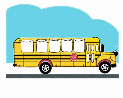 Bus Clipart Animated Mobile Gifs Animal Eyes