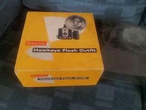 The Eastman Kodak Brownie Hawkeye Flash Outfit