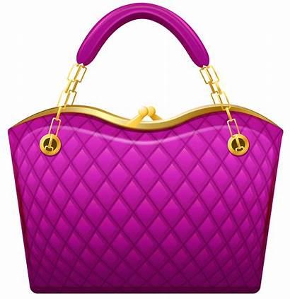 Clipart Handbag Clip Pink Handbags Purses Bag