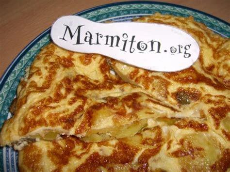 marmiton forum cuisine omelette espagnole tortilla auténtica recette de