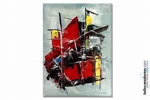 Tableau Coloré Moderne : tableau color moderne conqu te ~ Teatrodelosmanantiales.com Idées de Décoration