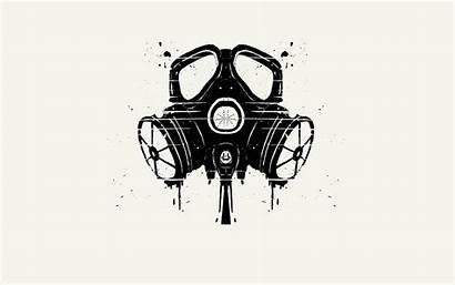 Gas Minimalistic Masks Mobile Desktop Wallpapers