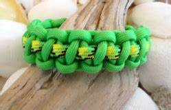 Neon Green Paracord Survival Bracelet