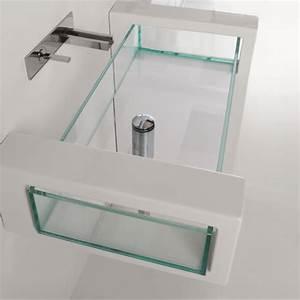 Waschbecken Ohne Wasseranschluss : gsg ceramic design wand waschbecken glass mit glaswaschbecken ohne hahnloch 60 120cm ~ Markanthonyermac.com Haus und Dekorationen
