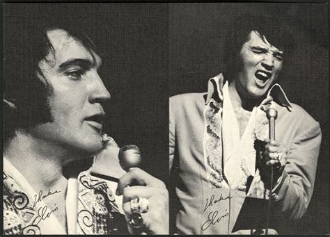 Elvis Presley Las Vegas Summer Festival Postcard
