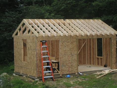 build  shed  skids cool shed deisgn