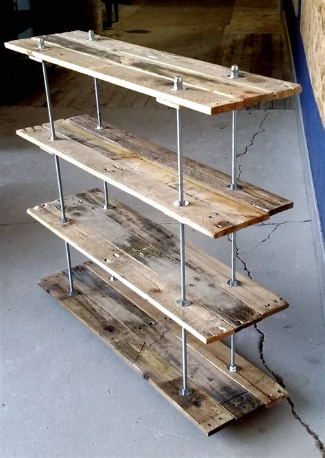 Shelving Projects by Custom Shelving Option Of All Things Pallets In 2019