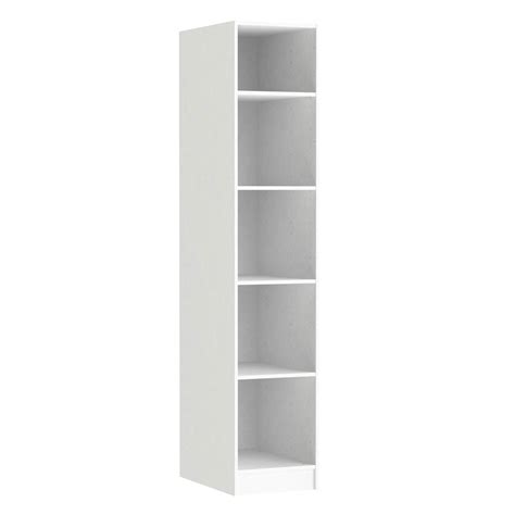 caisson spaceo home 200 x 40 x 60 cm blanc leroy merlin