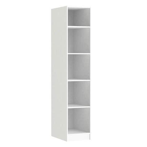 meuble cuisine largeur 30 cm caisson spaceo home 200 x 40 x 60 cm blanc leroy merlin