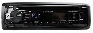 Kenwood Kdc-bt265u Bluetooth Cd Mp3 Smartphone Player Car Radio Stereo Receiver