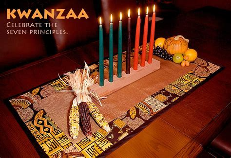 Kwanzaa Table Mat   Sew4Home