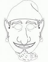 Rumpelstiltskin Coloring Pages Drawing Shrek Mask Hindu Popular Colouring Coloringhome sketch template