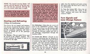 1970 Oldsmobile Cutlass Owners Manual
