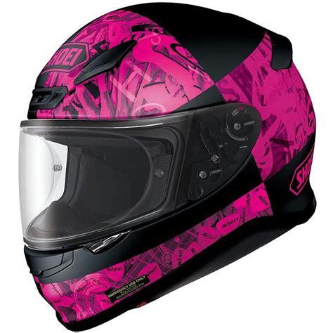 pink motocross helmet shoei nxr boogaloo ladies womens pink full face racing