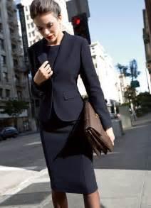 Elegant Women Business Skirt Suits