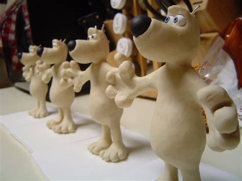 Making An Army Of Gromits Claymation Mold Making All