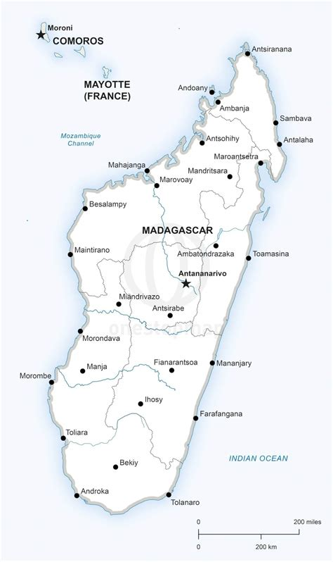 map  madagascar  world   madagascar   map