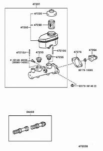 Toyota Camry Brake Master Cylinder Repair Kit  Piston Kit  Brake Ma