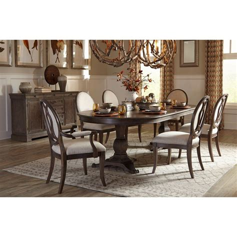 saint germain oval dining room set  oval  chairs art
