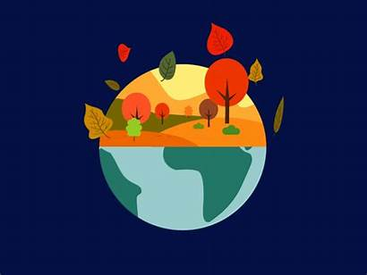 Seasons Animation Vector Dribbble Spring Icon