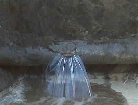 Water Main Leak  Your Local Plumber  Master Plumbers