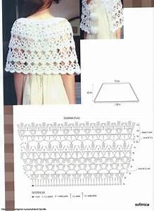 No Pattern  Pic Graph   Crocheted Shawl